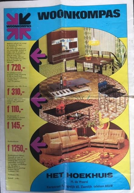 Folder het Hoekhuis jaren '60